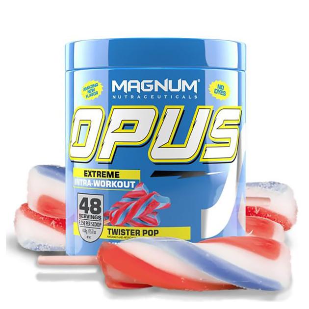 Энергетический предтринировочный комплекс Magnum Nutraceuticals Opus 444 г Твистер поп