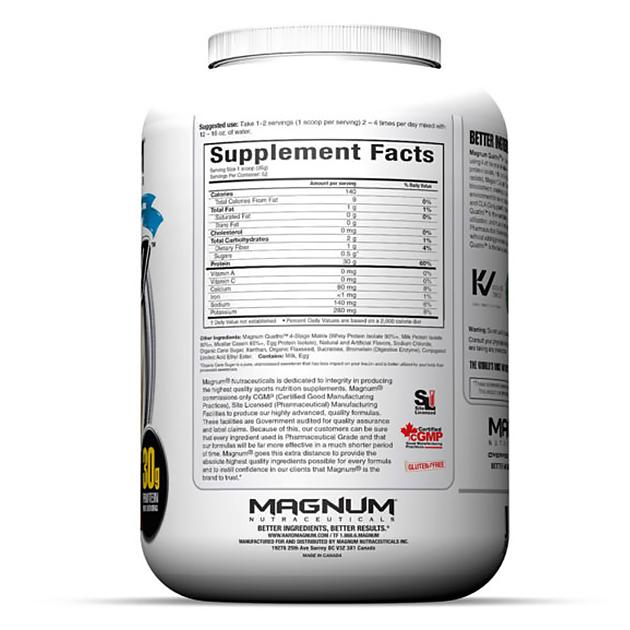 Изолят протеина Magnum Nutraceuticals Quattro 1820 г Фруктовый
