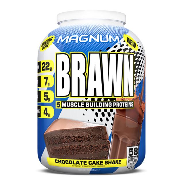 Протеин Magnum Nutraceuticals Brawn 2000 г Шоколадный торт