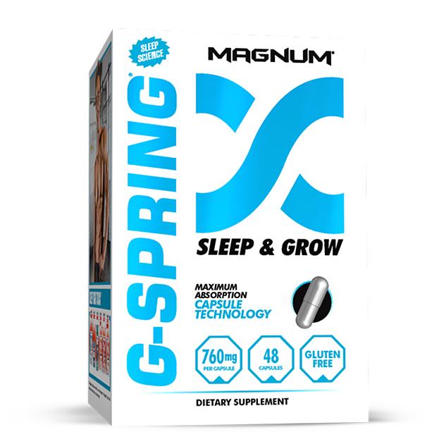 Витаминный комплекс для сна и восстановления Magnum Nutraceuticals G-Spring 48 капс