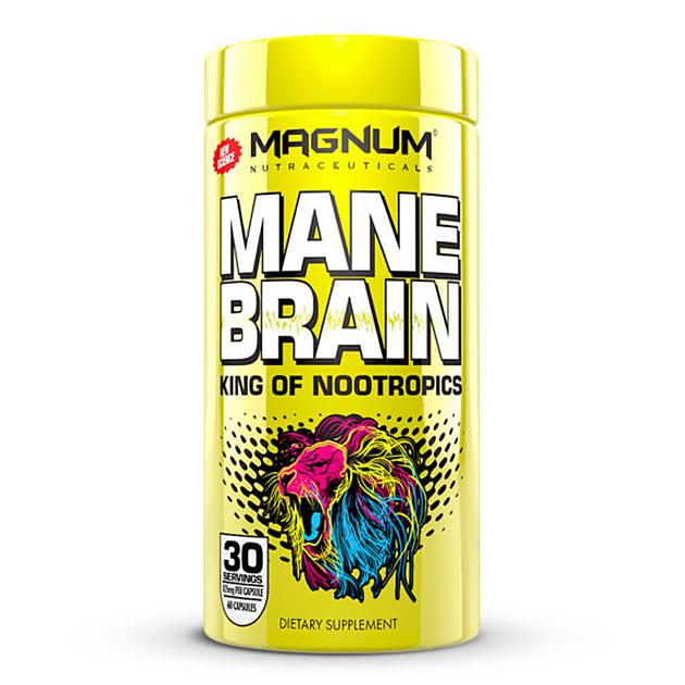 Стимулятор мозговой активности Magnum Nutraceuticals Mane Brain 60 капс