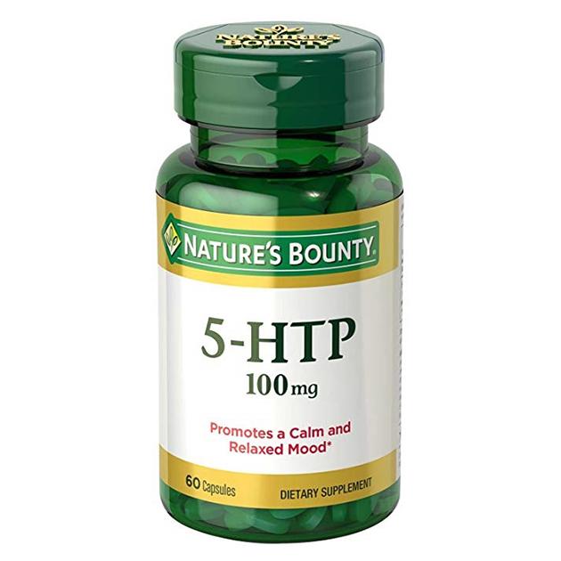 Аминокислота Nature's Bounty 5-HTP 100 mg 60 капсул