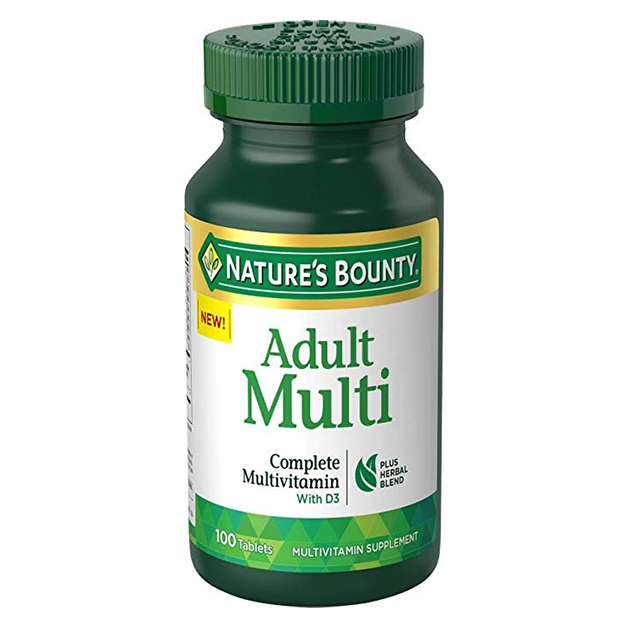 Витамины Nature's Bounty Adult Multi 100 таблеток