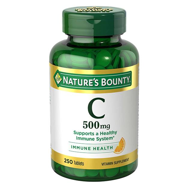 Витамины Nature's Bounty Витамин C 500 mg 250 таблеток