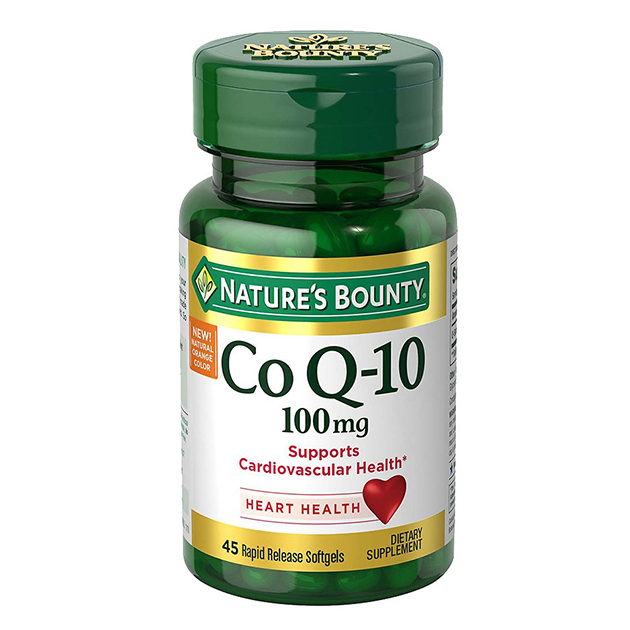 Антиоксидант Nature's Bounty Co Q-10 100 mg 45 софтгель