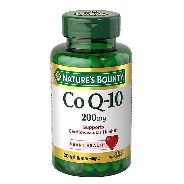 Антиоксидант Nature's Bounty Co Q-10 100 mg 75 софтгель быстрого высвобождения