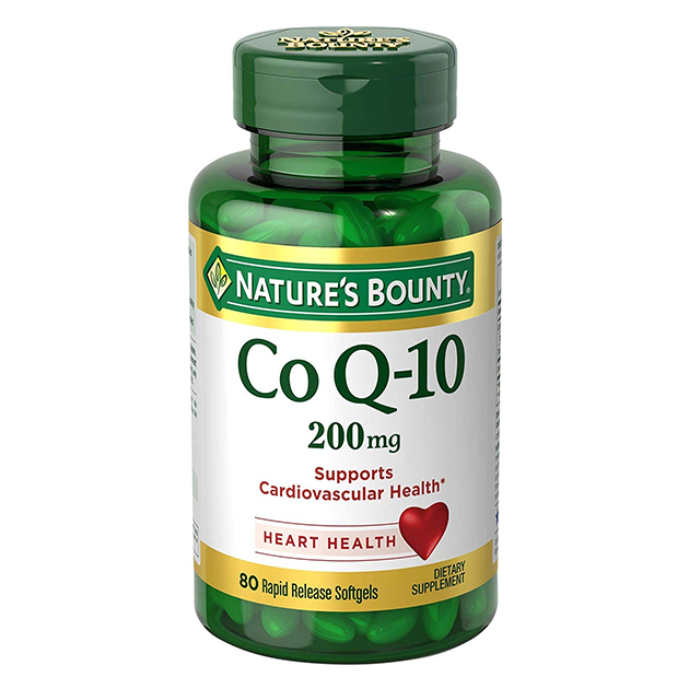 Антиоксидант Nature's Bounty Co Q-10 200 mg 80 софтгель