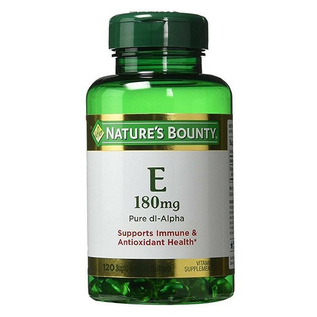 Витамины Nature's Bounty E 180 mg 120 капсул