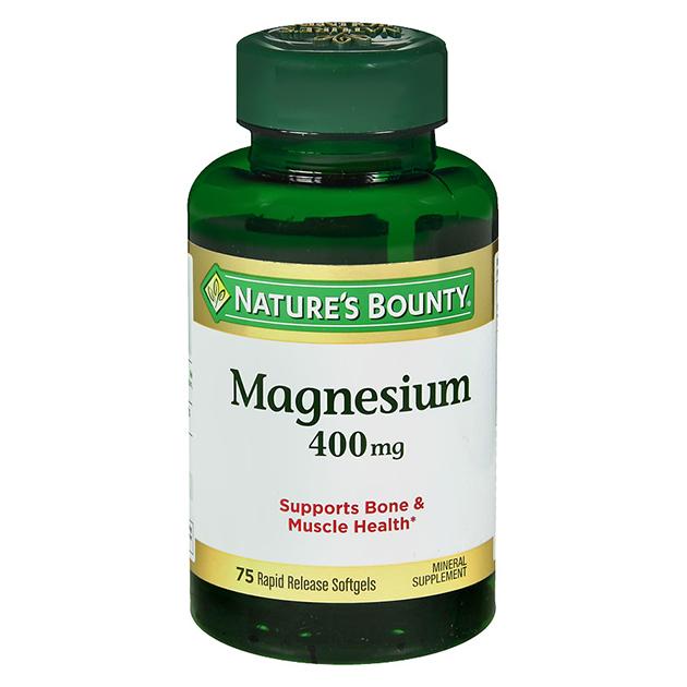 Витамины Nature's Bounty Magnesium 400 mg 75 софтгель быстрого высвобождения