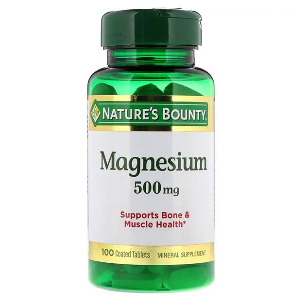 Витамины Nature's Bounty Magnesium 500 mg 100 таблеток