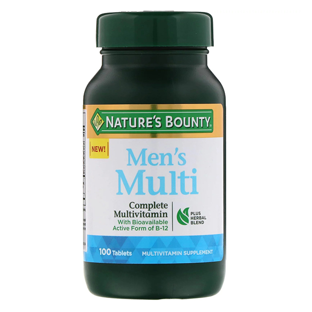 Витамины Nature's Bounty Men's Multi 100 таблеток