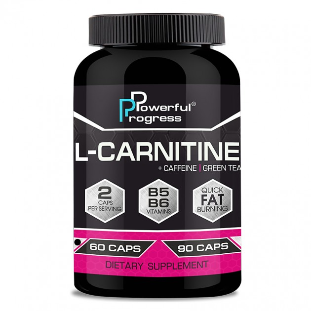 Жиросжигатель Powerful Progress L-Carnitine 60 капсул
