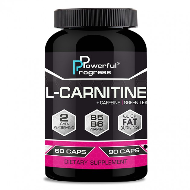 Жиросжигатель Powerful Progress L-Carnitine 90 капсул