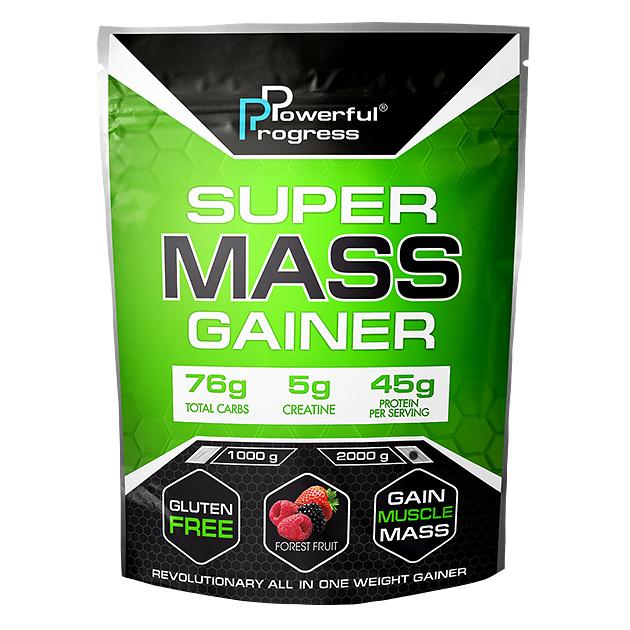 Гейнер Powerful Progress Super Mass Gainer  2 кг. Шоколад