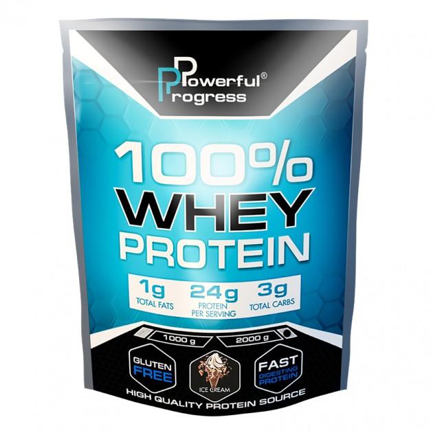 Протеин Powerful Progress 100% Whey protein 2 кг Мороженое
