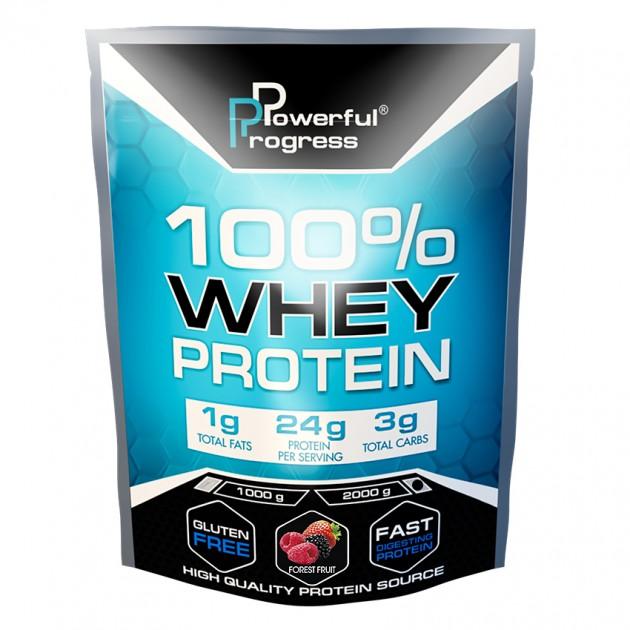 Протеин Powerful Progress 100% Whey protein  2 кг Лесные ягоды