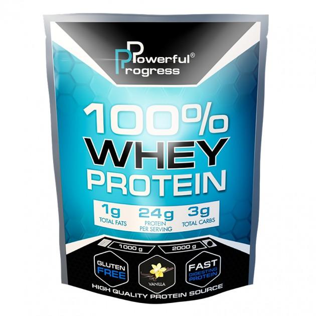Протеин Powerful Progress 100% Whey protein 2 кг Ваниль