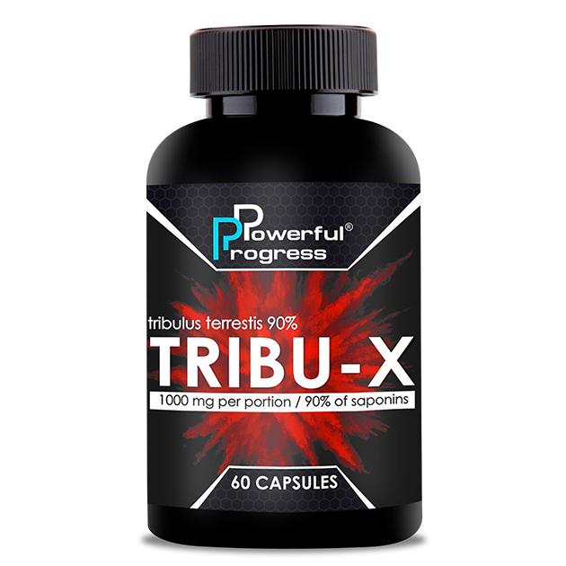 Стимулятор тестостерона Powerful Progress Tribu-X 60 капс