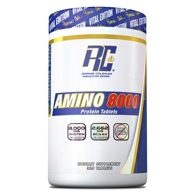 Аминокислоты Ronnie Coleman Amino-Tab 8000 325 табл