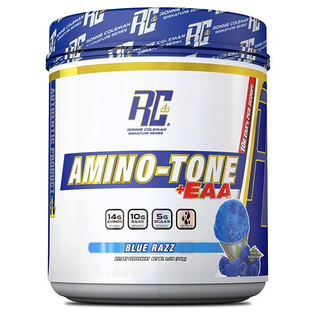 Аминокислоты Ronnie Coleman Amino-Tone EAA Синяя малина 540 г