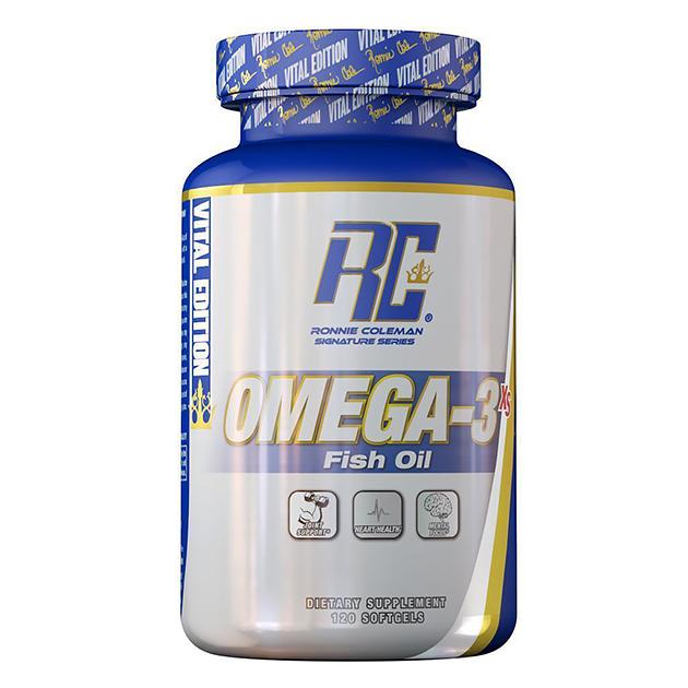 Жирные кислоты Рыбий жир Ronnie Coleman Omega-3 Fish Oil Softgel 120 капс