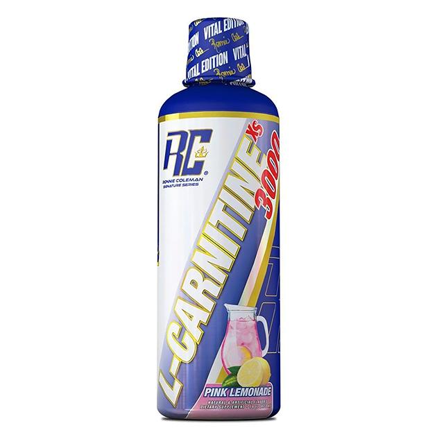 Жиросжигатель Ronnie Coleman L-Carnitine XS 3000 473 мл Розовый лимонад