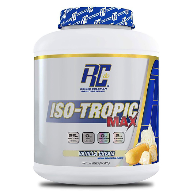 Протеин Ronnie Coleman Iso-Tropic MAX 1430 г Ванильный крем