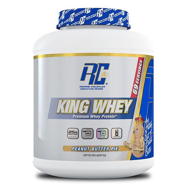 Протеин Ronnie Coleman King Whey 2270 г Пирог с арахисовым маслом
