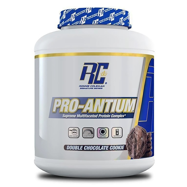 Протеин Ronnie Coleman Pro-Antium Печенье с двойным шоколадом 2270 г