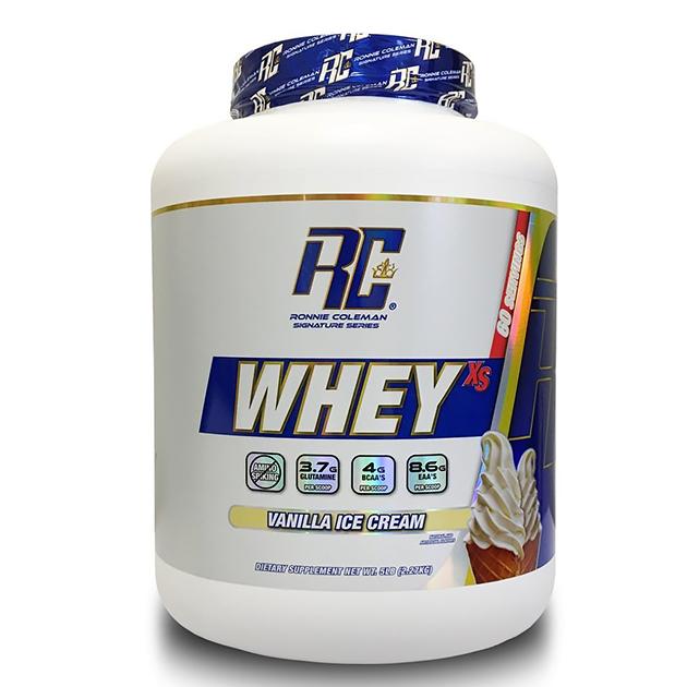 Протеин Ronnie Coleman Whey XS 2268 г Ванильное мороженое