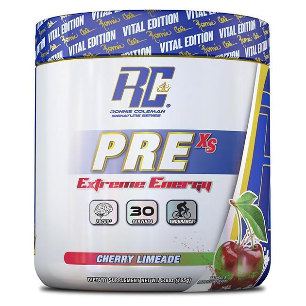 Предтренировочный комплекс Ronnie Coleman Pre XS Pre-Workout Powder Вишневый лимонад 165 г
