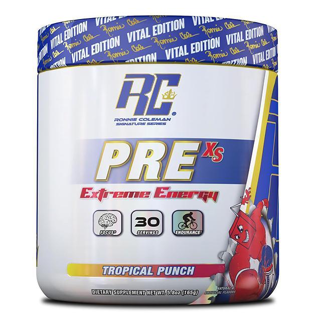 Предтренировочный комплекс Ronnie Coleman Pre XS Pre-Workout Powder Тропический пунш 165 г
