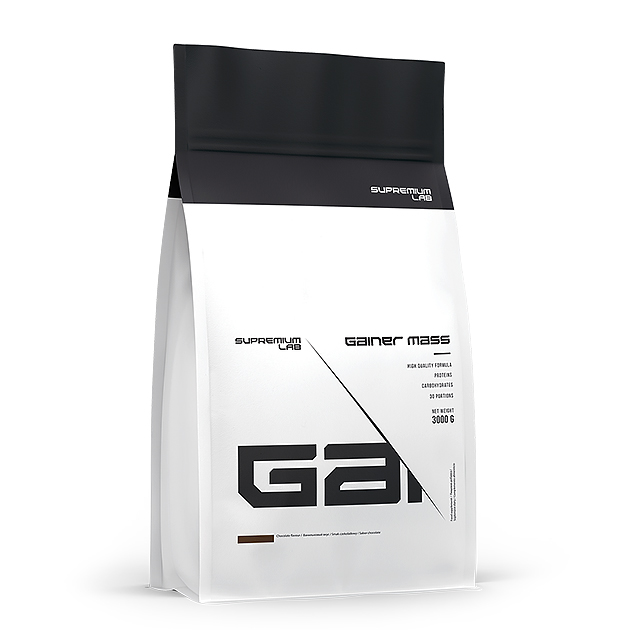Гейнер Gainer Mass Supremium Lab 3 кг. Шоколад