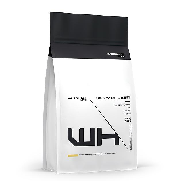 Протеин Whey Protein Supremium Lab 2 кг. Ваниль
