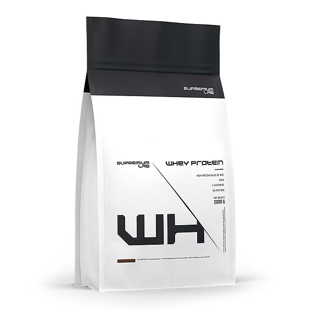 Протеин Whey Protein Supremium Lab 2 кг. Шоколад