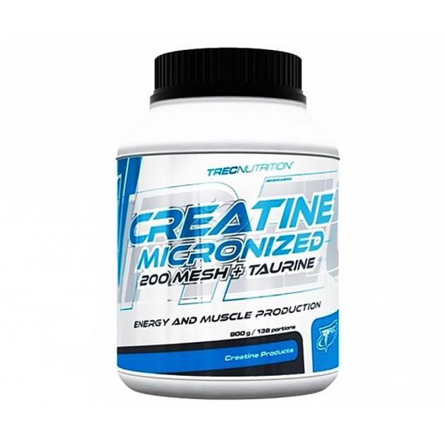 Креатин Trec Nutrition Creatine Micronized 200 Mesh+ Taurine 900 г