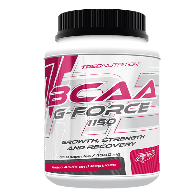Аминокислоты Trec Nutrition BCAA G Force 1150 360 капс