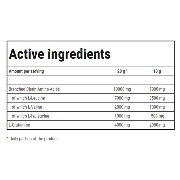 Аминокислоты Trec Nutrition BCAA G Force 300 г Апельсин