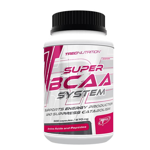 Аминокислоты Trec Nutrition Super BCAA System 300 капс