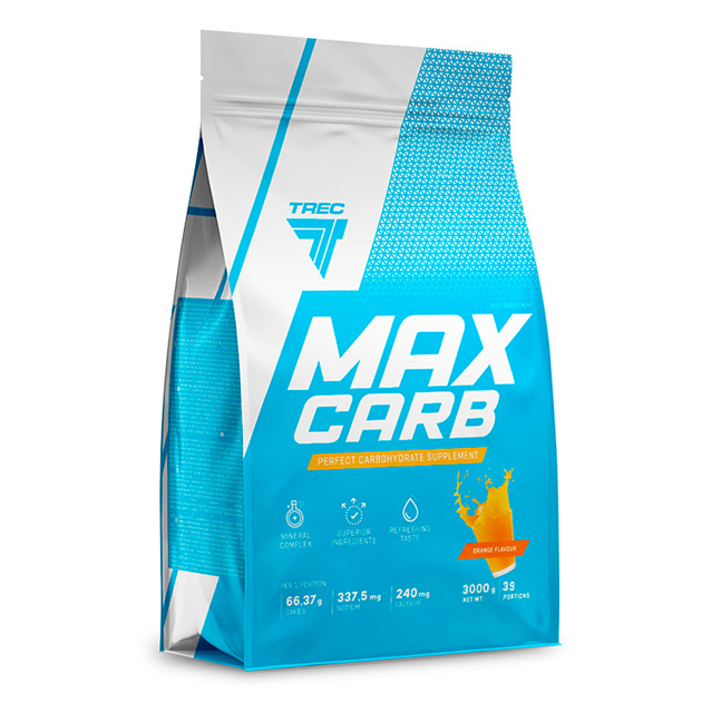 Энергетик Trec Nutrition Max Carb 3000 г Апельсин