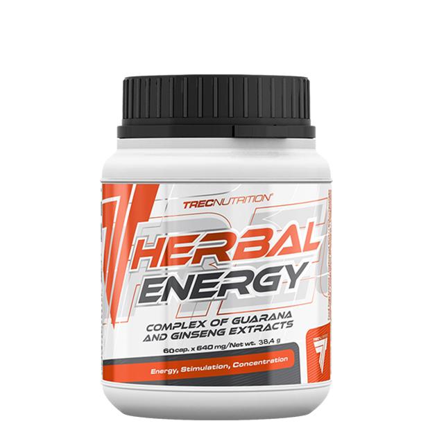 Предтренировочный комплекс Trec Nutrition Herbal Energgy 60 капс