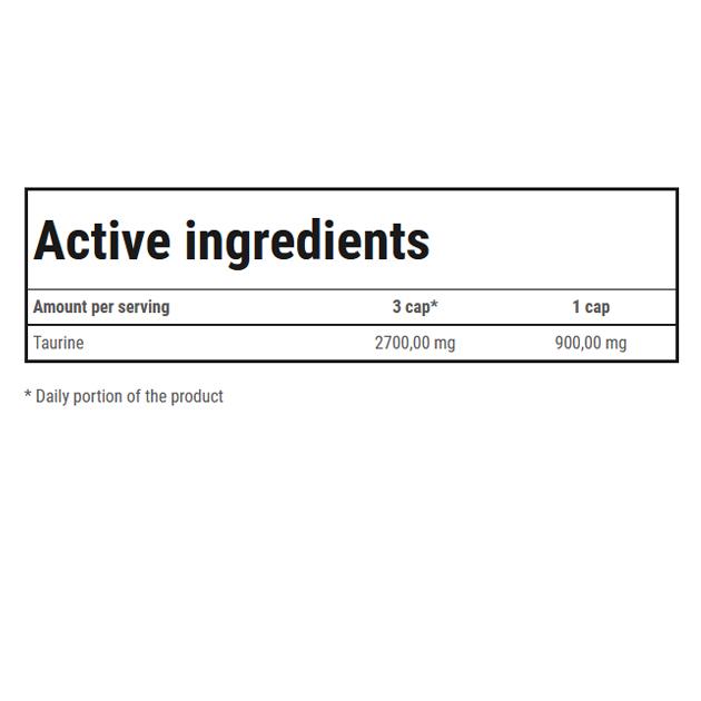 Аминокислота Trec Nutrition Taurine 900 120 таб