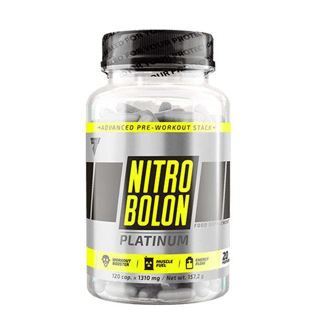 Предтренировочный комплекс Trec Nutrition Nitrobolon Platinum 120 капс