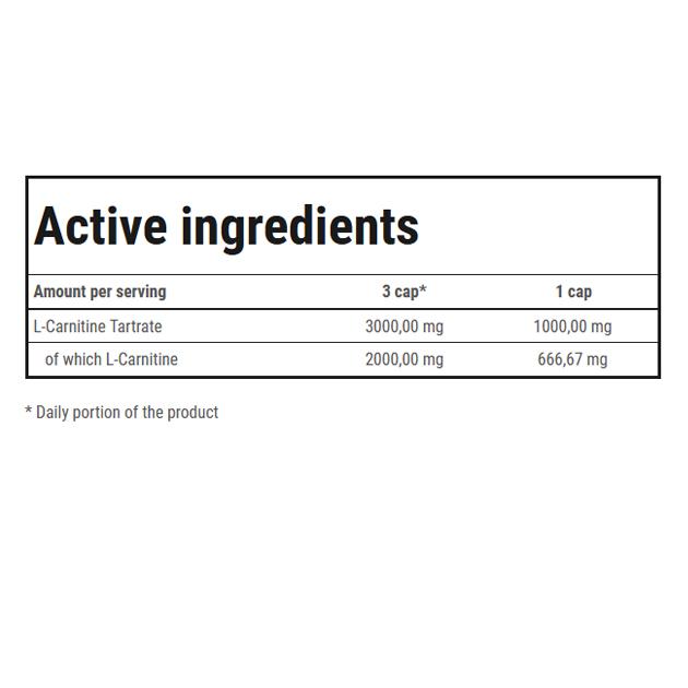 Жиросжигатель Trec Nutrition L-Carnitine 3000 60 капс