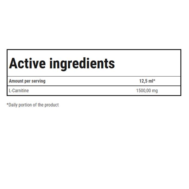 Жиросжигатель Trec Nutrition L-Carnitine 3000 500 мл Абрикос