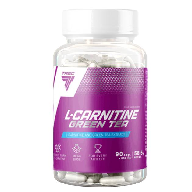 Жиросжигатель Trec Nutrition L-Carnitine + Green Tea 90 софтгель
