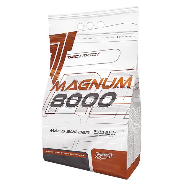 Гейнер Trec Nutrition Magnum 8000 5450 г Карамель - Ваниль