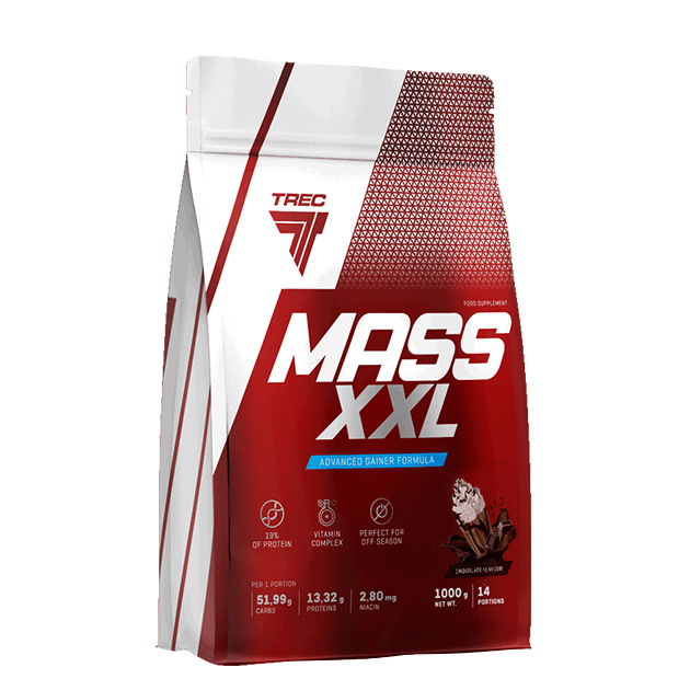 Гейнер Trec Nutrition Mass XXL 1000 г Шоколад