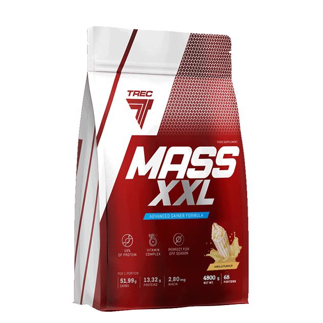 Гейнер Trec Nutrition Mass XXL 4800 г Ваниль