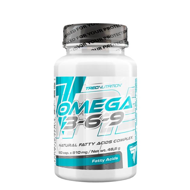 Жирные кислоты Trec Nutrition Omega 3-6-9 60 капс